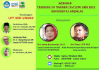 Webinar Training of Trainer DPL KKN 2021 Universitas Andalas